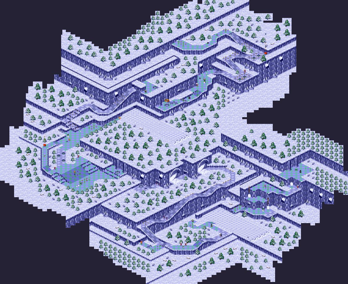 Sonic 3D Blast Maps - The Sonic Center